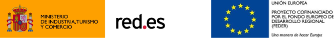 Logos de Redes, Ministerio y Europa